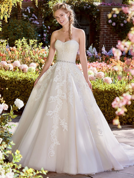 Bernice Wedding                                          dress by Rebecca Ingram