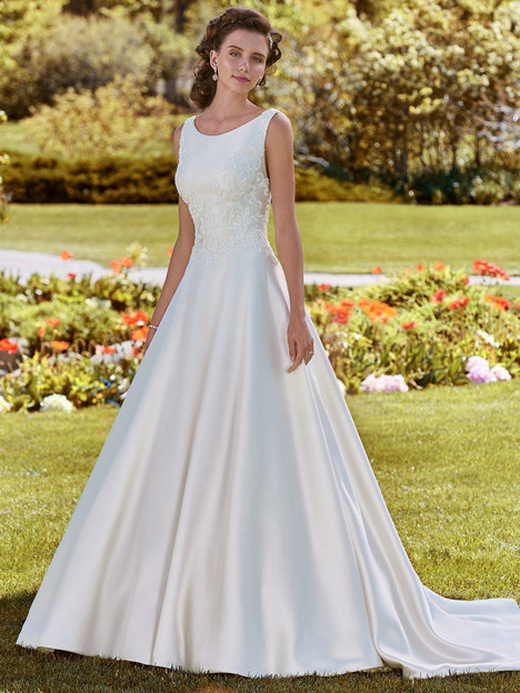 Brooke Wedding                                          dress by Rebecca Ingram