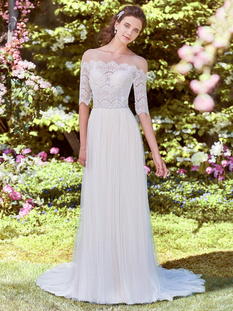 Cathy Wedding                                          dress by Rebecca Ingram