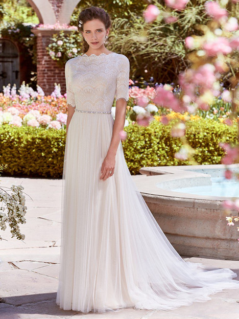 Cathy Anne Wedding                                          dress by Rebecca Ingram
