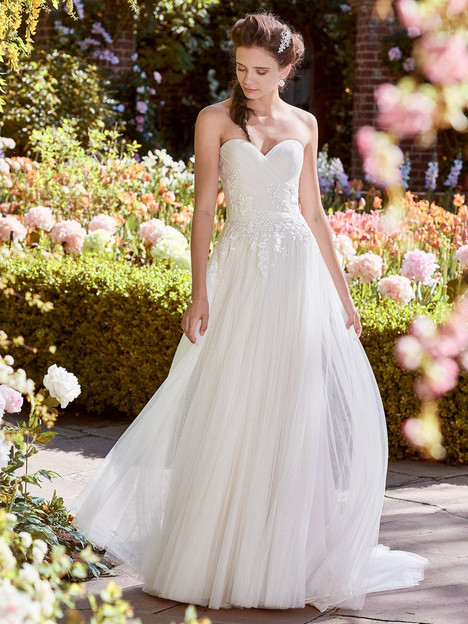 Hilary Wedding                                          dress by Rebecca Ingram