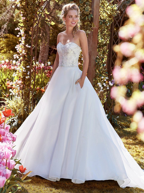 Judith Wedding                                          dress by Rebecca Ingram