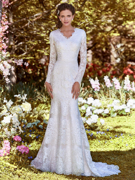 Karla Anne Wedding                                          dress by Rebecca Ingram