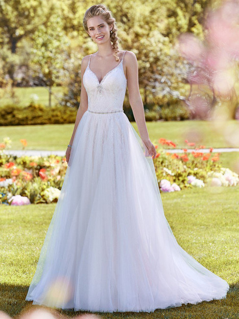 Polly (+ overskirt) Wedding                                          dress by Rebecca Ingram