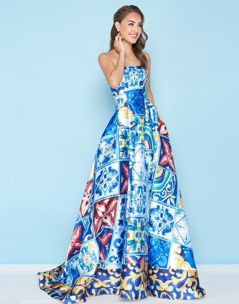 30378H (Island Blue) Prom                                             dress by Mac Duggal : Ball Gowns