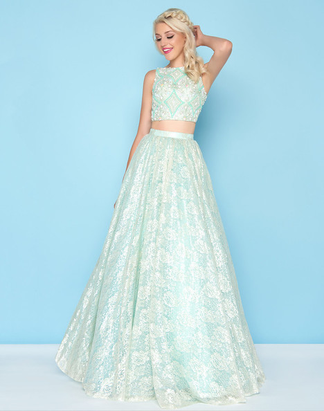 40583H (Seafoam) Prom                                             dress by Mac Duggal : Ball Gowns