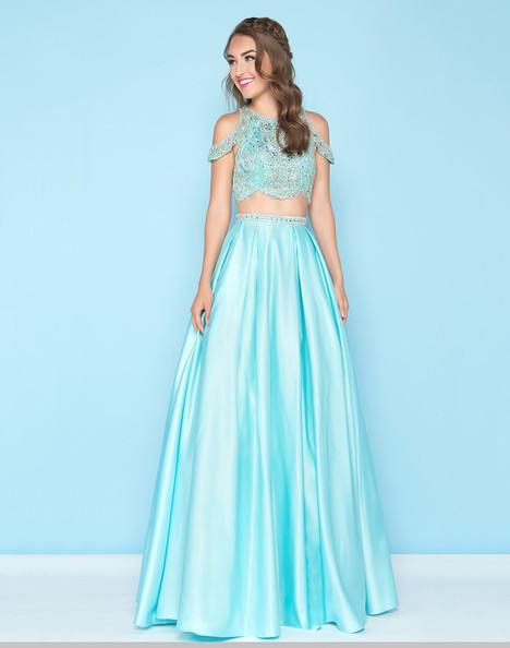40726H (Aqua) Prom                                             dress by Mac Duggal : Ball Gowns