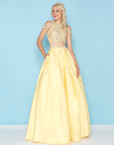 40726H (Lemon) Prom                                             dress by Mac Duggal : Ball Gowns