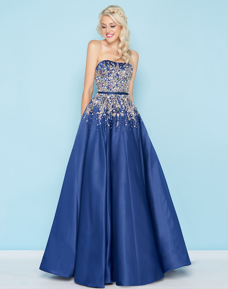 40739H (Sapphire) Prom                                             dress by Mac Duggal : Ball Gowns