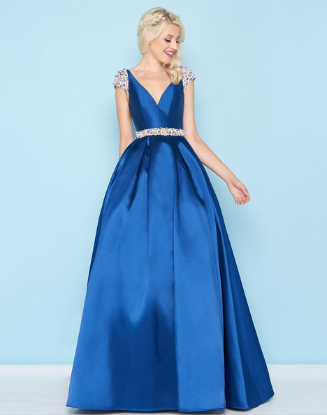 40744H (Navy) Prom                                             dress by Mac Duggal : Ball Gowns