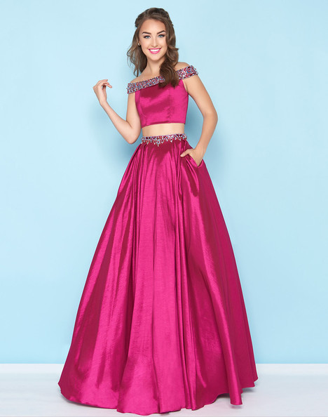 40745H (Magenta) Prom                                             dress by Mac Duggal : Ball Gowns