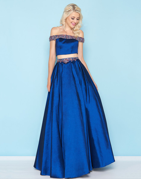 40745H (Sapphire) Prom                                             dress by Mac Duggal : Ball Gowns