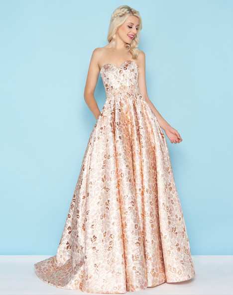 40751H (Rose Gold) Prom                                             dress by Mac Duggal : Ball Gowns