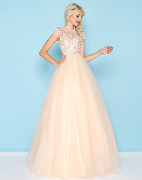 48412H (Blush) Prom                                             dress by Mac Duggal : Ball Gowns