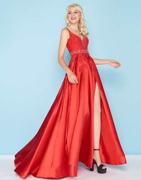 48630H (Red) Prom                                             dress by Mac Duggal : Ball Gowns