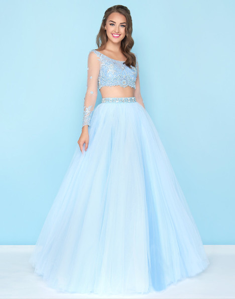 50441H (Sky Blue) Prom                                             dress by Mac Duggal : Ball Gowns