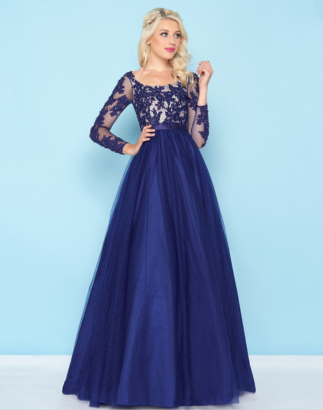 65841H (Navy) Prom                                             dress by Mac Duggal : Ball Gowns