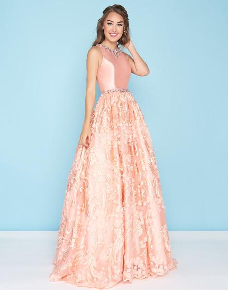 66340H (Peach) Prom                                             dress by Mac Duggal : Ball Gowns
