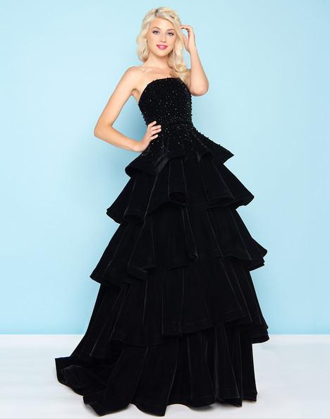 66344H (Black) Prom dress by Mac Duggal : Ball Gowns