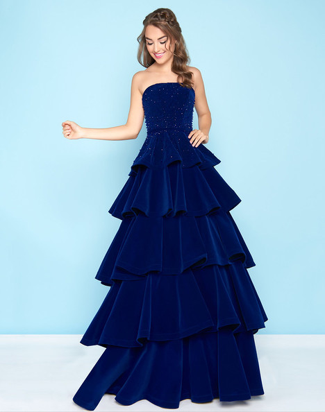 66344H (Sapphire) Prom dress by Mac Duggal : Ball Gowns