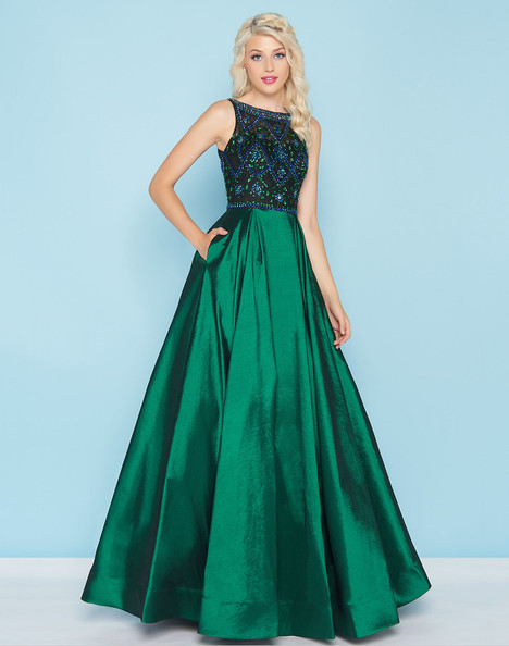 77125H (Emerald) Prom                                             dress by Mac Duggal : Ball Gowns
