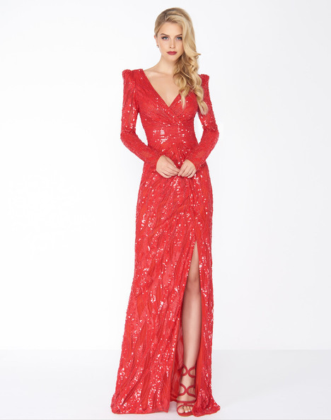 4635R (Red) Prom dress by Mac Duggal : Black White Red