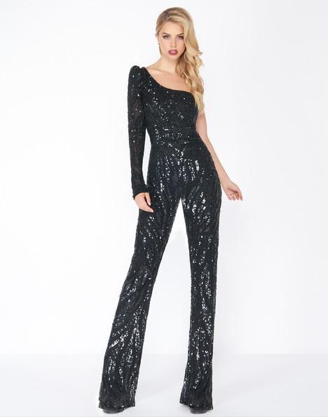 4636R (Black) Prom                                             dress by Mac Duggal : Black White Red