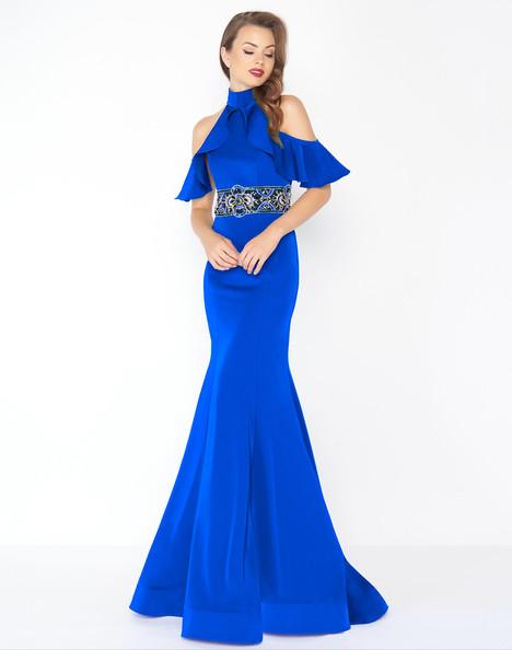 48724R (Royal) Prom                                             dress by Mac Duggal : Black White Red