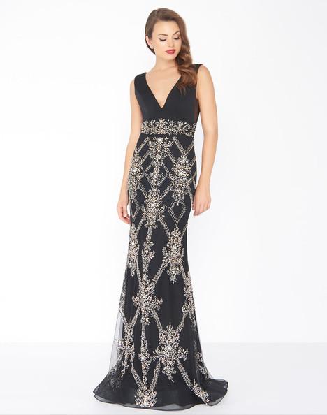 50414R (Black) Prom                                             dress by Mac Duggal : Black White Red