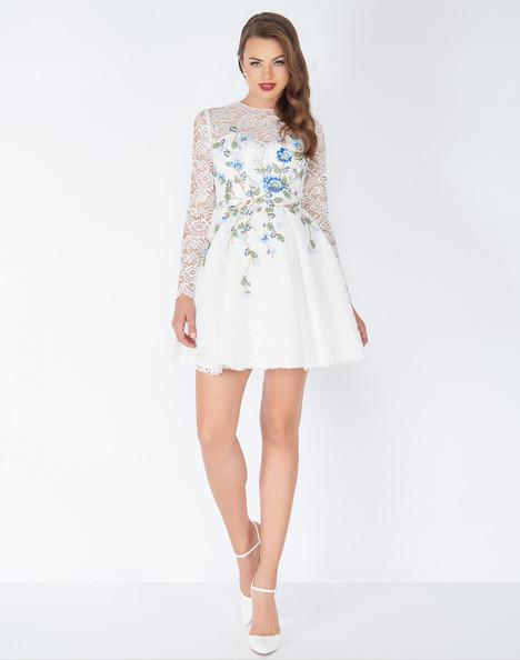 50443R (Ivory) Prom                                             dress by Mac Duggal : Black White Red