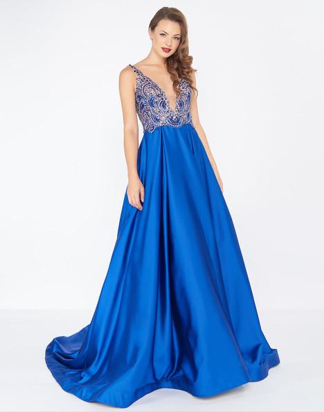 66182R (Sapphire) Prom                                             dress by Mac Duggal : Black White Red