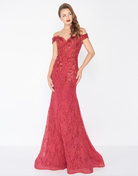 66214R (Ruby) Prom                                             dress by Mac Duggal : Black White Red