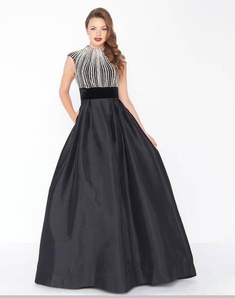 77269R (Black) Prom                                             dress by Mac Duggal : Black White Red