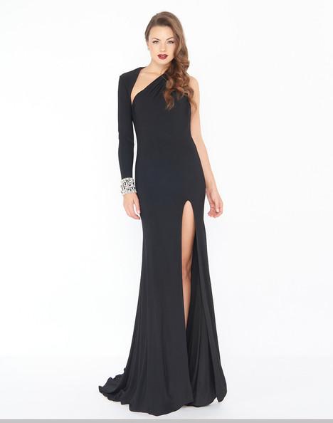 77413R (Black) Prom dress by Mac Duggal : Black White Red