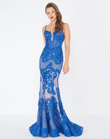 78999R (Royal) Prom                                             dress by Mac Duggal : Black White Red