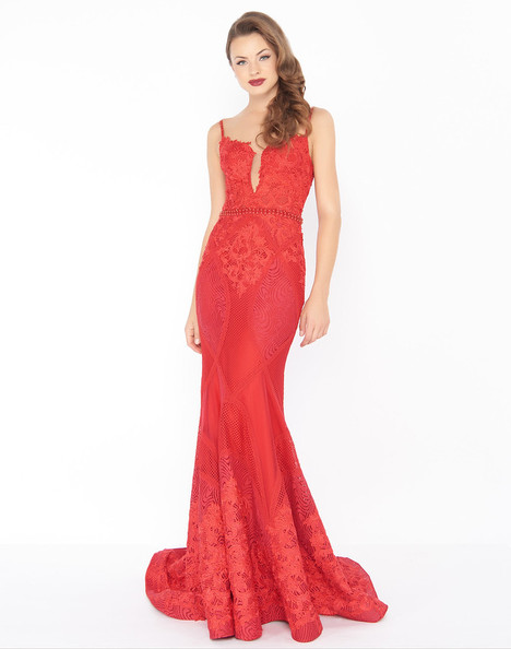 79082R (Red) Prom                                             dress by Mac Duggal : Black White Red