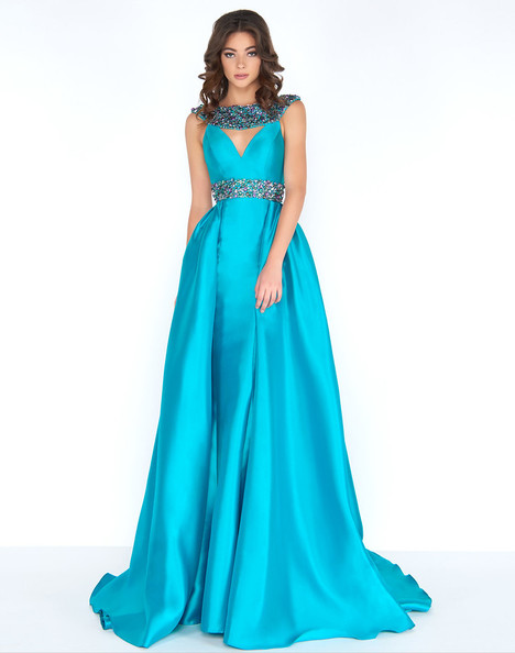 2025A (Turquoise) Prom                                             dress by Cassandra Stone