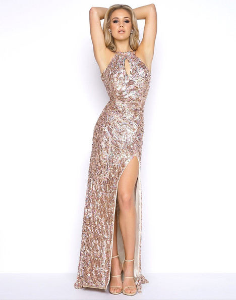 3434A (Gold) Prom                                             dress by Cassandra Stone