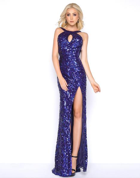 3434A (Royal) Prom dress by Cassandra Stone