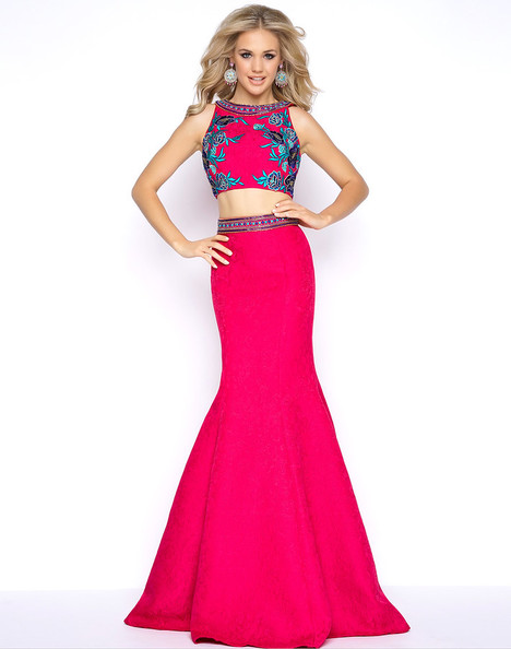 40628A (Fuchsia) Prom                                             dress by Cassandra Stone