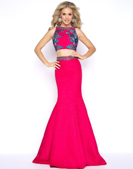 40628A (Fuchsia) Prom                                             dress by Cassandra Stone