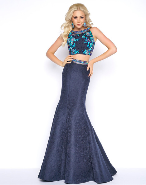 40628A (Navy) Prom dress by Cassandra Stone