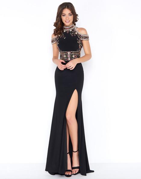 40687A (Black) Prom dress by Cassandra Stone