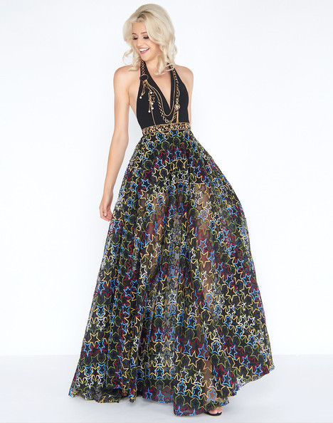 40788A (Rock Star) Prom                                             dress by Cassandra Stone