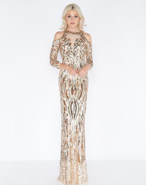 4573A (Nude) Prom                                             dress by Cassandra Stone