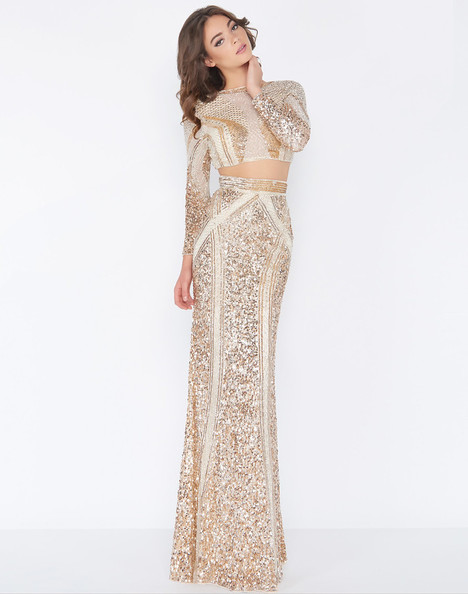4660A (Rose + Gold) Prom                                             dress by Cassandra Stone