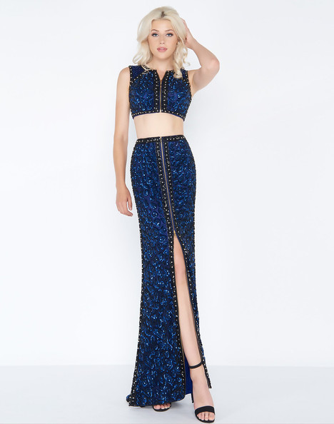 4672A (Cobalt) Prom                                             dress by Cassandra Stone