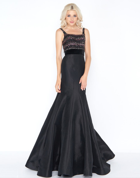 48761A (Black) Prom                                             dress by Cassandra Stone