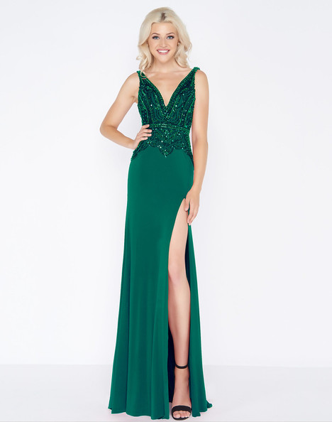 50484A (Emerald) Prom                                             dress by Cassandra Stone