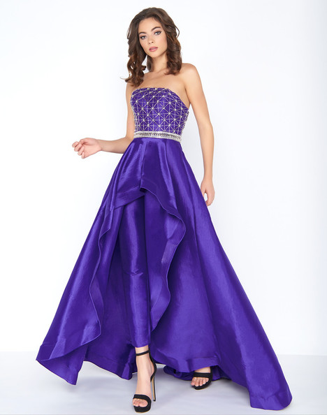 66522A (Royal Purple) Prom dress by Cassandra Stone